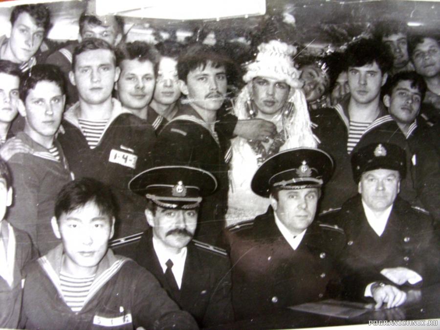 """Экипаж ПСКР """"М. Коновалов"""" 89-91г."""