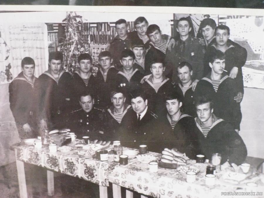 Новый 1978 год в базе г. Невельска