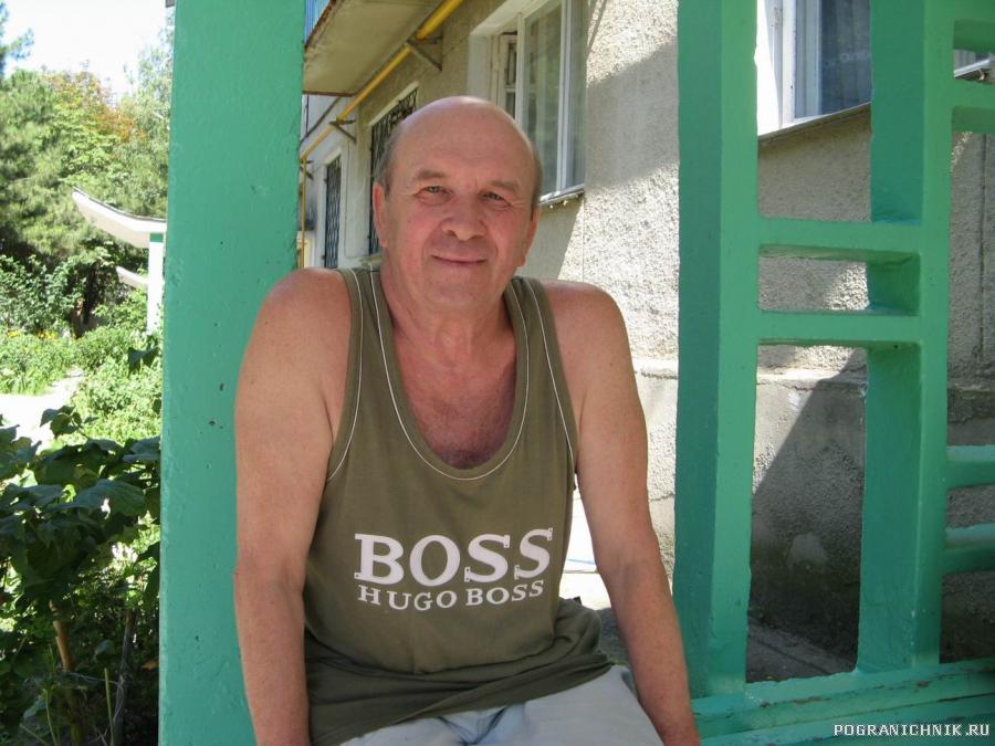 Анапа, июль 2010, кап 2 ранга Степанов В.Я. (в отставке)