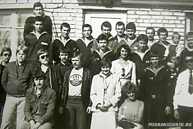 май 82 ПТН-6 приезд артистов