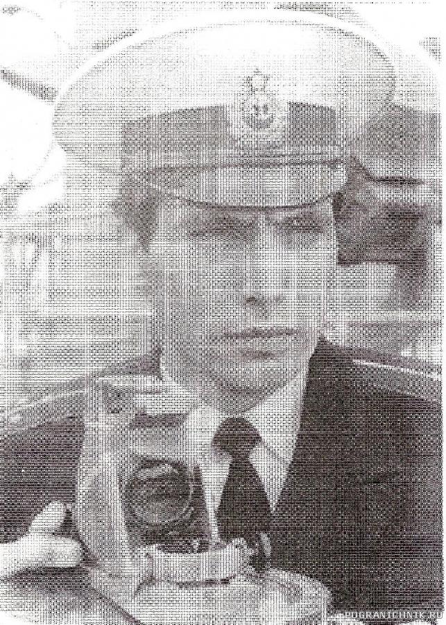 ст. л-т И. Жарков, командир БЧ-1 - 1983-1984 гг.