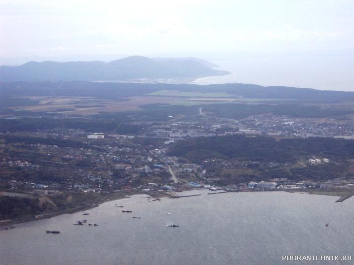Вид с борта самолета сентябрь 2010
