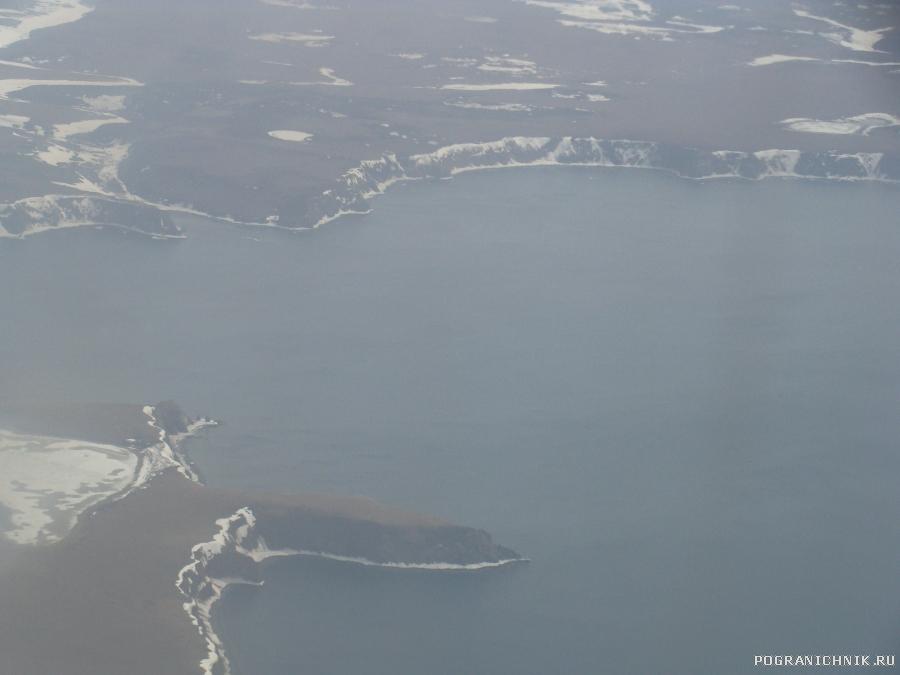 Под крылом Залив Шелихова Охотского моря