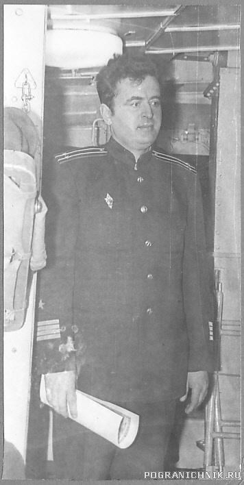 Командир Бриллианта кап.2 ранга Акулов