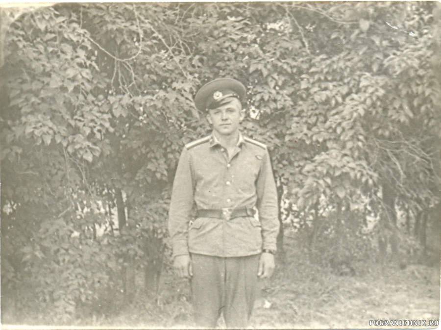 Старшина ШСС - Николай Постовой. 1973-74 гг.