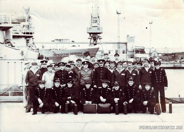 ПСКР- 620. осень 1982 Домой