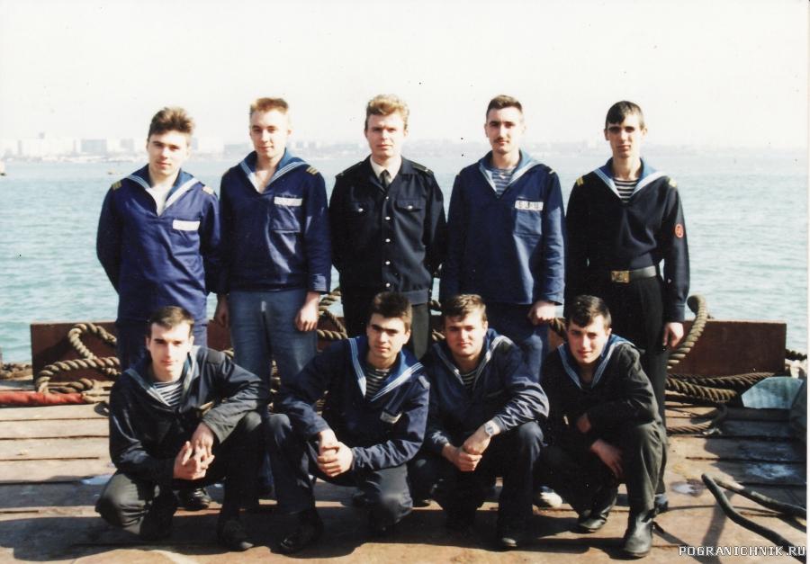ПСКР-636,Керчь,весна1995