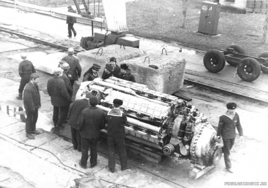 замена М-504 на 607