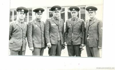 Сержантский состав ШСС-1973-74гг.