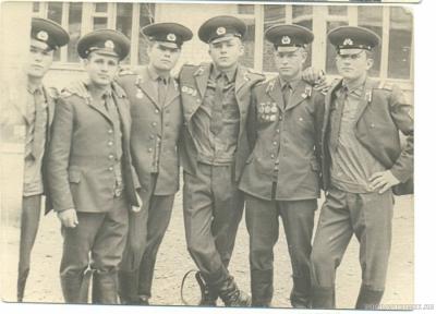 Сержантский состав ШСС -73-74 гг.