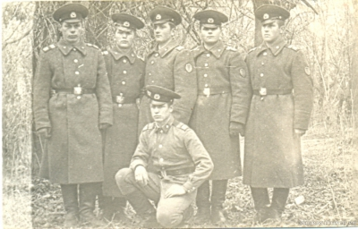 Сержанты ШСС- 1973-74 гг.