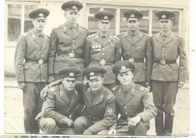 Я, со своим отделением. ШСС - 73-74 гг.