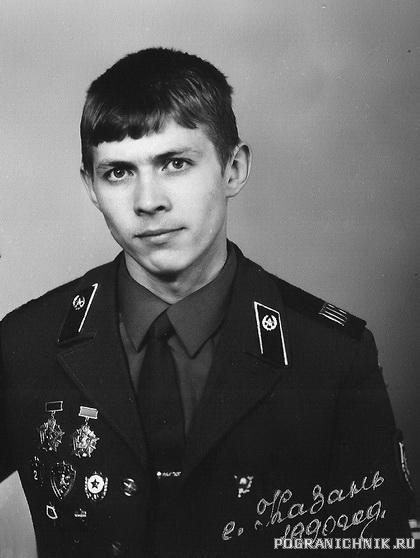 4 погранзастава Ново-Инокентьевка 1987-1989 гг.