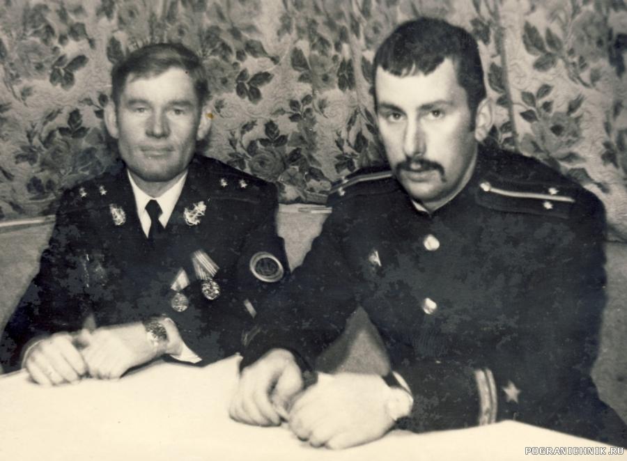 Боцман Куркаков и штурман