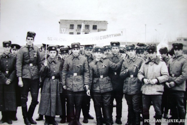 Комендантский взвод 1983-1985