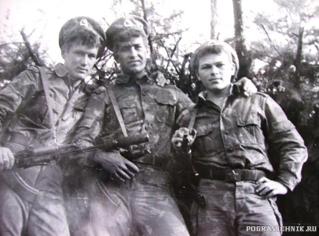 ВПБС Саня Борисов в центре 1985