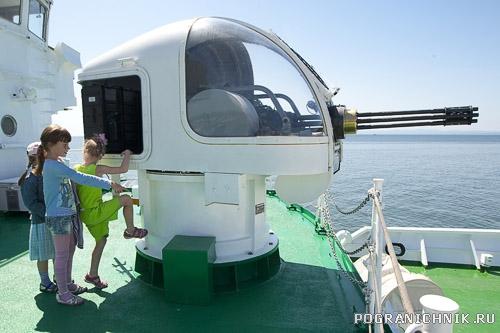 Корабль пограничной охраны Юж.Кореи