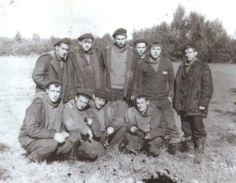 В колхозе на картошке (осень-86)