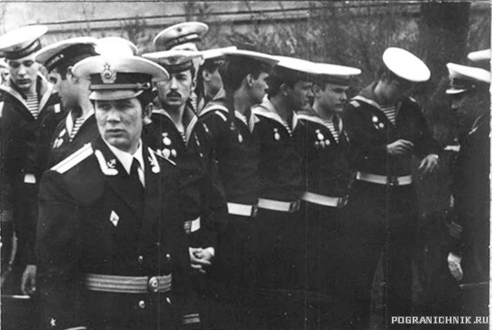9 мая 1980 года - 9 рота - Торжественное построение