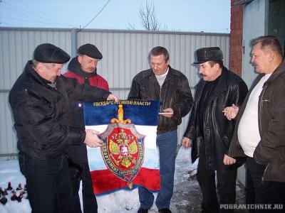 Проводы  в запас  подполковника Сергея  Лазарева