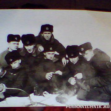 """ПСКР """"БРЕСТ""""87/89г.На отдыхе.ПКамчатск"""