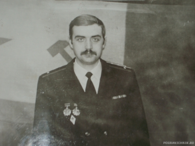 Командир БЧ-5 Захаров И.А.