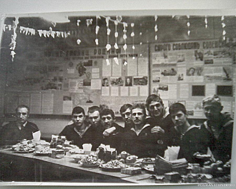 Встреча Нового 1983 года.