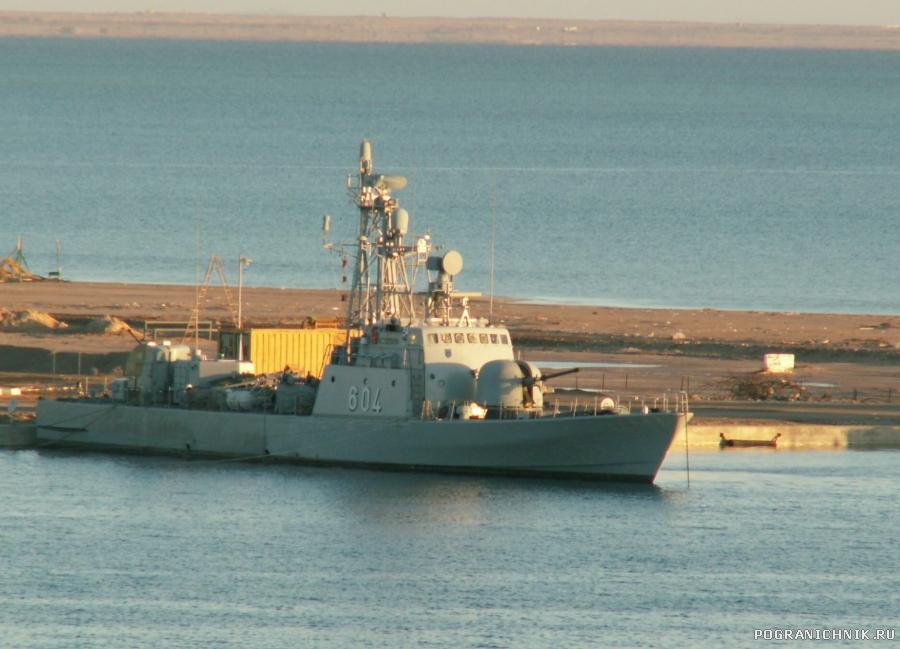 Корабль ВМС Египта