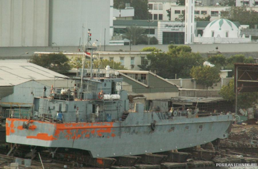 десантный катер ВМС Йемена