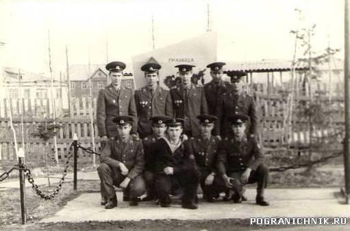 """КПП Игарка весна 1988 Мы с нашими """"молодыми"""""""