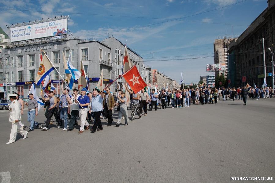 День ВМФ. Новосибирск-2011