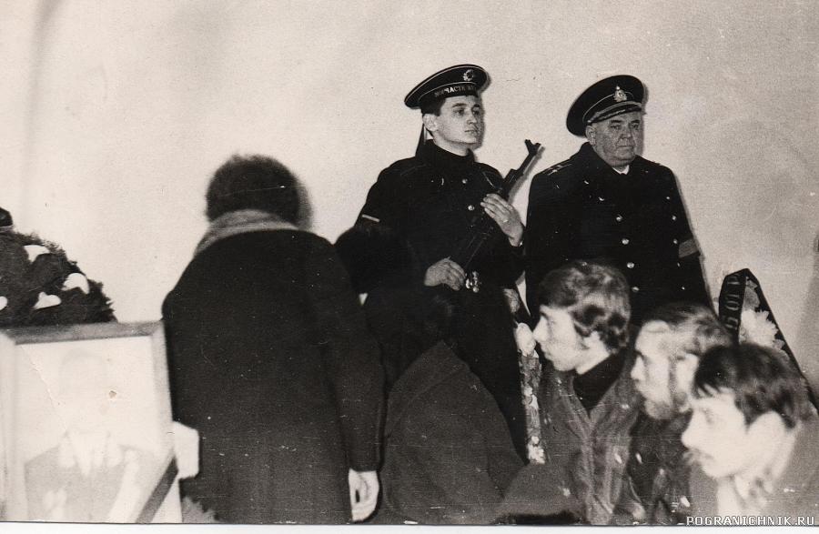 Похороны командира 9 роты Жучкова