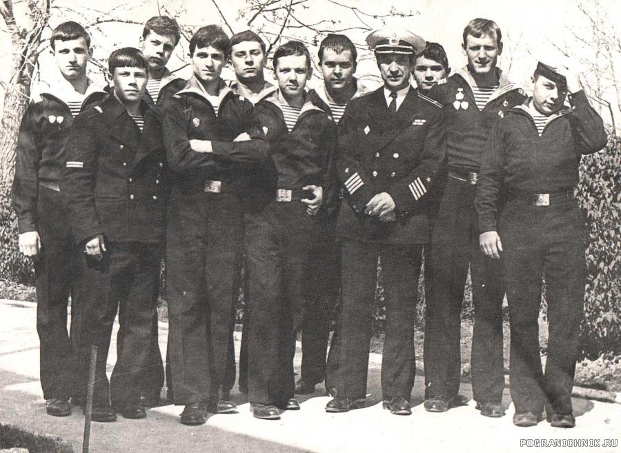 Служба в Анапе 1979-1982 г.г.