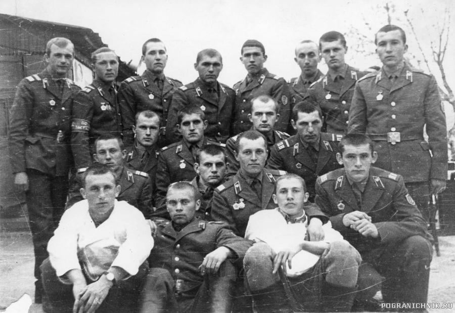 Каахка Пограничники 9 ПГЗ Сундукли 1973