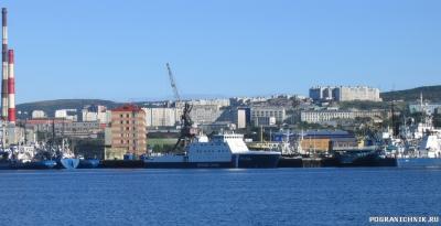 Отряд береговой охраны в Мурманске. ПС-824