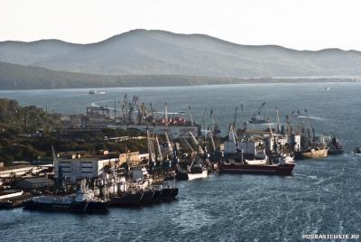 Отряд пограничных сторожевых кораблей в г. Владивостоке