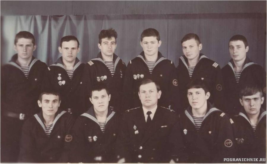 Дембеля с командиром, 1983