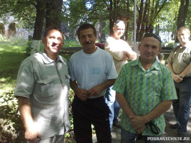 479 ПООН у памятника г.Немане 2.08.2011
