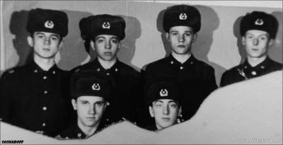 ШКОЛА ИНСТРУКТОРОВ,5 ЗАСТАВА,ДЕКАБРЬ 1985 ГОДА,3 ОТ-Е