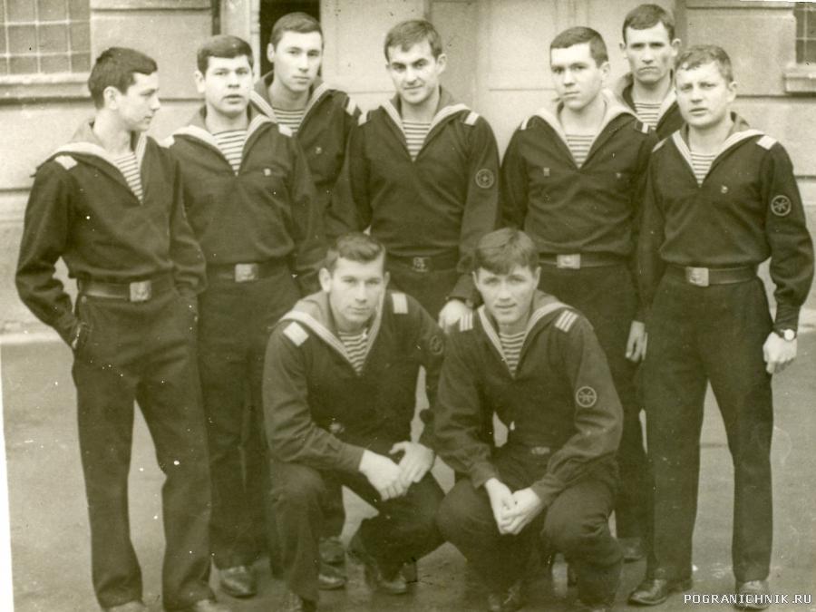 1972г. Старшины первой школы