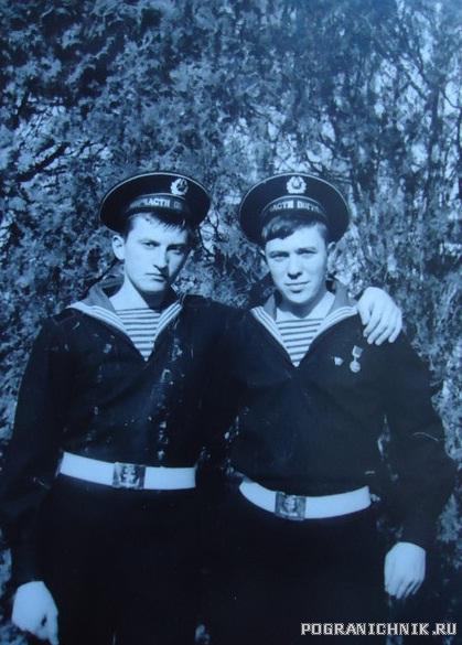 Анапа , весна 1979. Я и Ваня Бабук из Пухович, в последствии