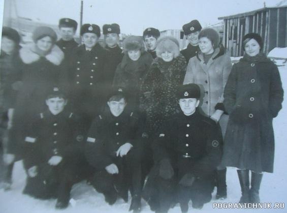 Шефы 1981, 9-ый класс Малокурильской школы.