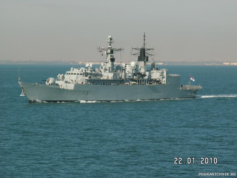 """британский фрегат """"Chatham"""""""