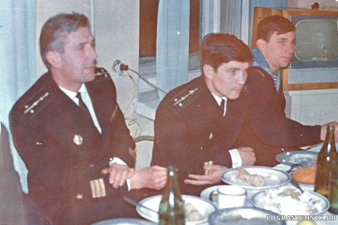 1970 Командир ПСКР-154 кап.лейт Ефименко
