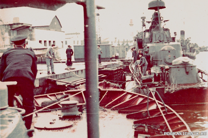 Осень 1970 Авария ПСКР-154
