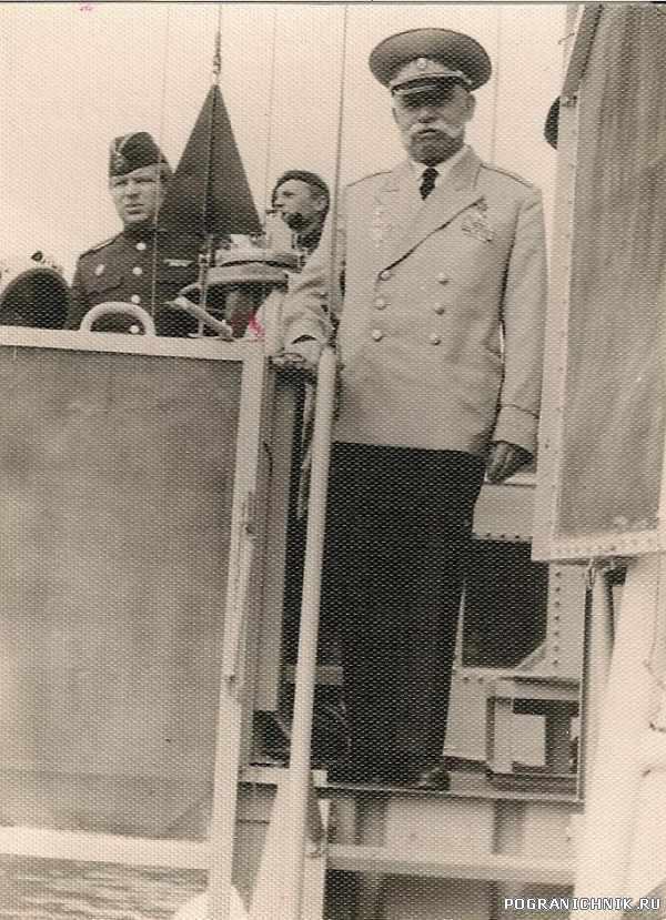 Герой СССР генерал Гнечко. Освобождал Курилы