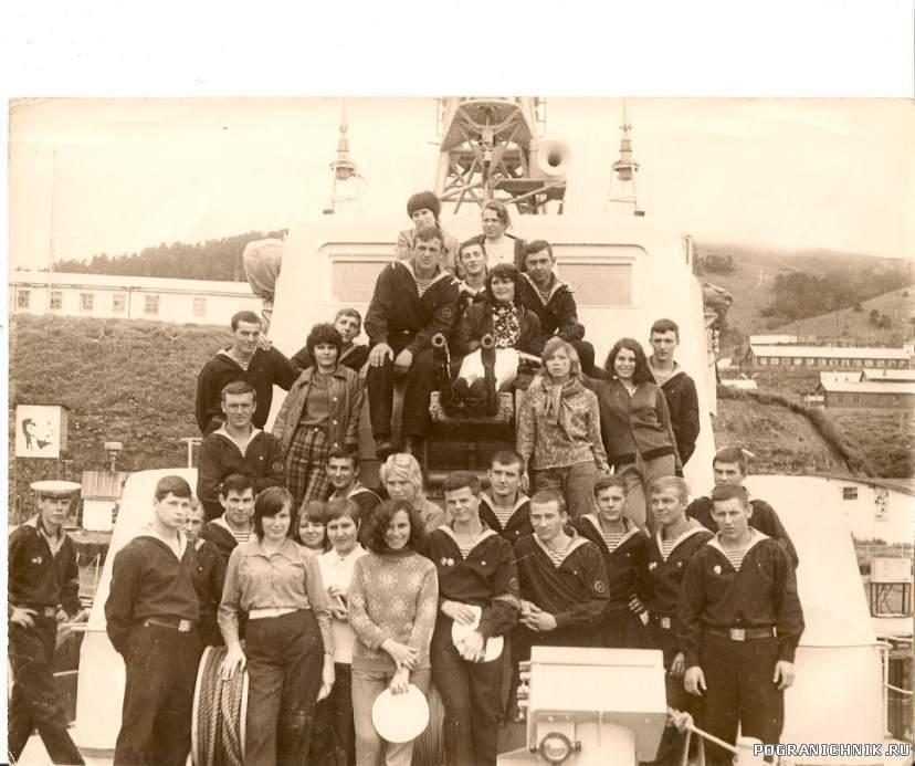 Студенты из Иркутска.Среди них -моя будущая жена.
