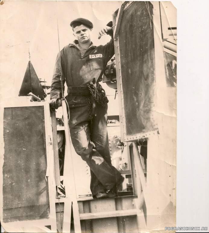 Это я,штурманский эл. ПСКР-675,1972г.
