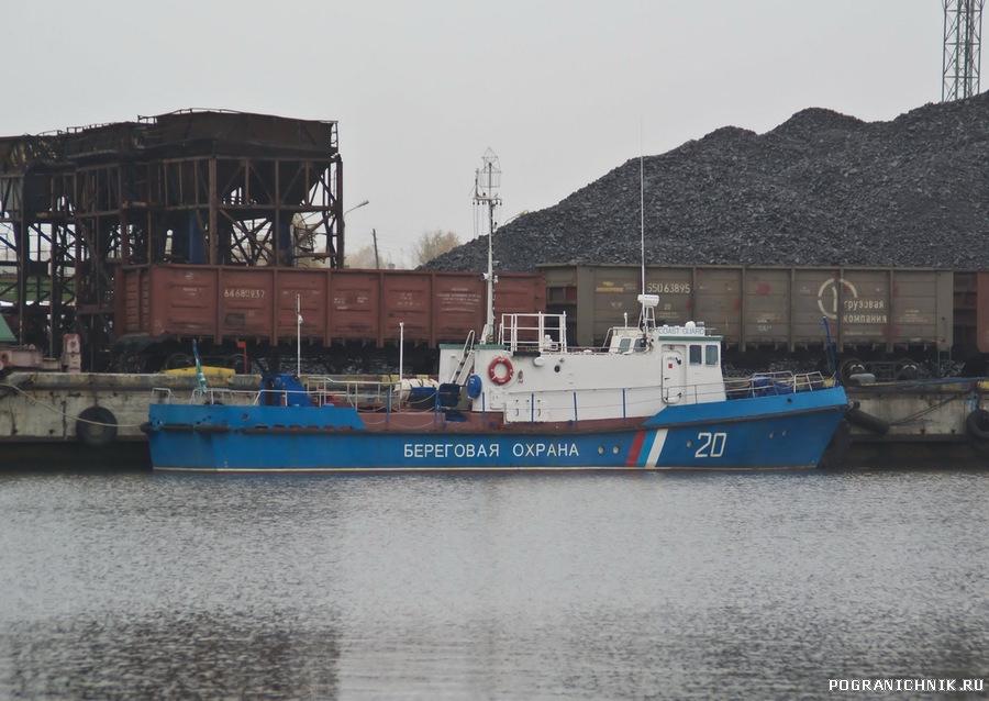 ПСКА 20 (октябрь 2011 г. порт Экономия)