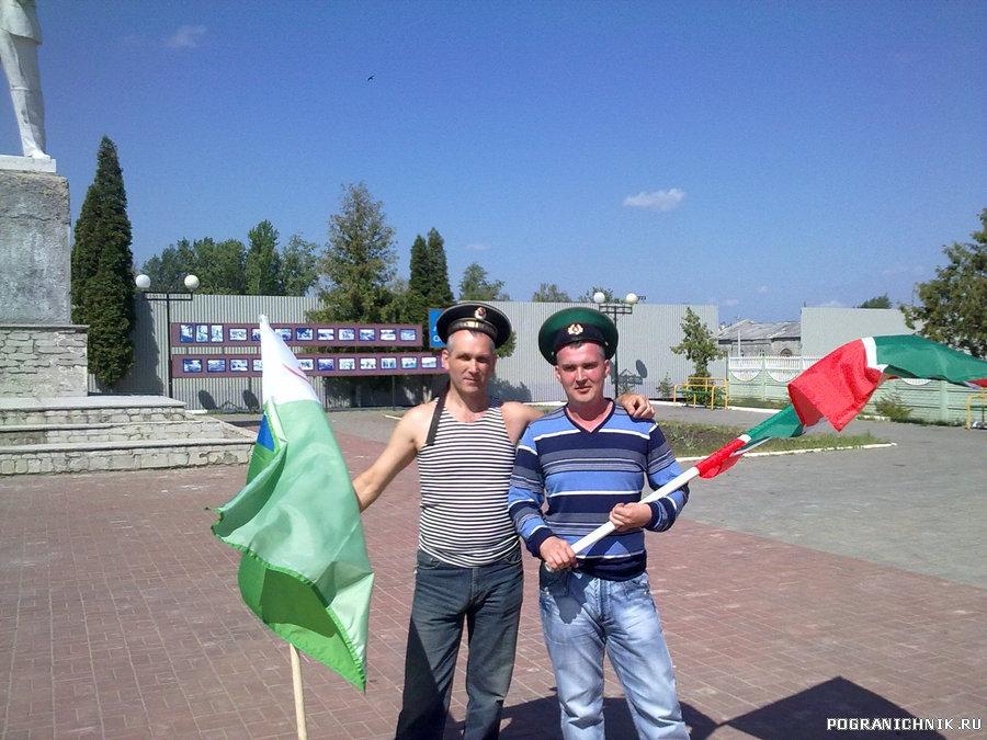 День пограничника в г.Скопине Рязанской области